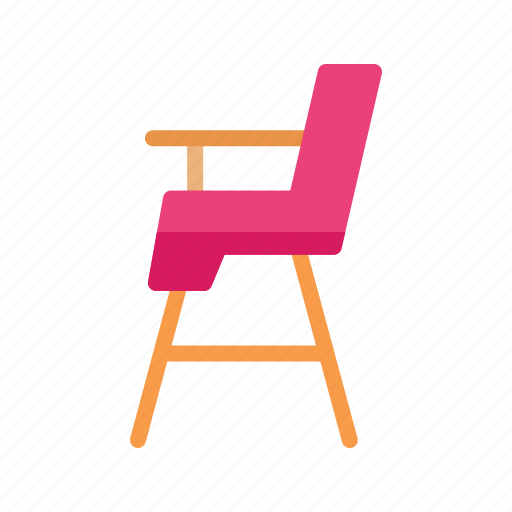 baby, chair, child, color, cute, montessori, sit icon