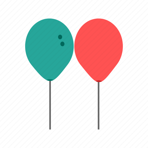 art, balloon, birthday, celebration, decoration, happy, play icon