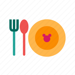 baby, bowl, breakfast, dish, food, meal, tasty icon