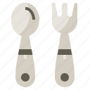 cutlery, food, restaurant, spoon, tools, utensils icon