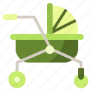 baby, buggy, carriage, crib, kid, pram, pushchair icon