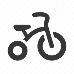 baby, newborn, raw, simple, tricycle icon