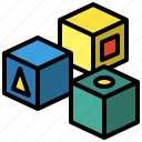 cubes, game, cube, tool, toy, toys