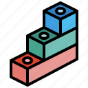 toy, blocks, rectangle, baby, child