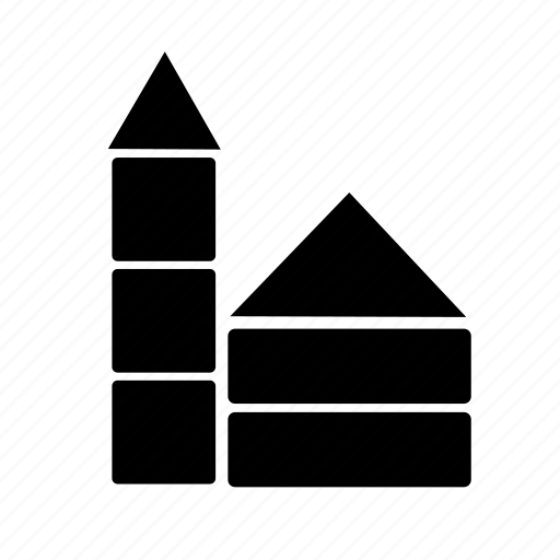 babies, baby, box, building, home, kid, toys icon