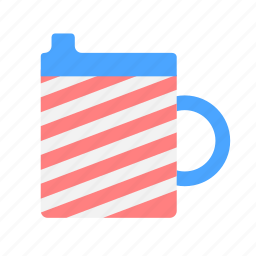 babies, baby, bottle, drink, kid, mug icon