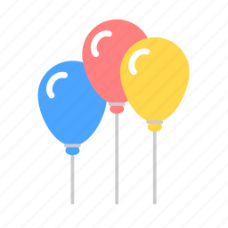 babies, baby, balloons, birthday, kid, party, toys icon