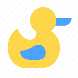 babies, baby, bath, duck, kid, toys, water icon