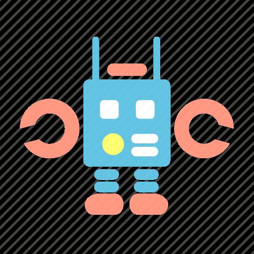 babies, baby, kid, lego, machine, robot, toys icon