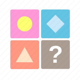 apps, babies, baby, box, kid, puzzle, toys icon