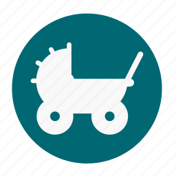 babies, baby, car, kid, roller, seat, toy icon