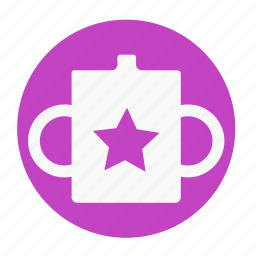 babies, baby, bottle, drink, front, kid, mug icon