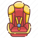 infant, car, seat, safety, child, baby, chair