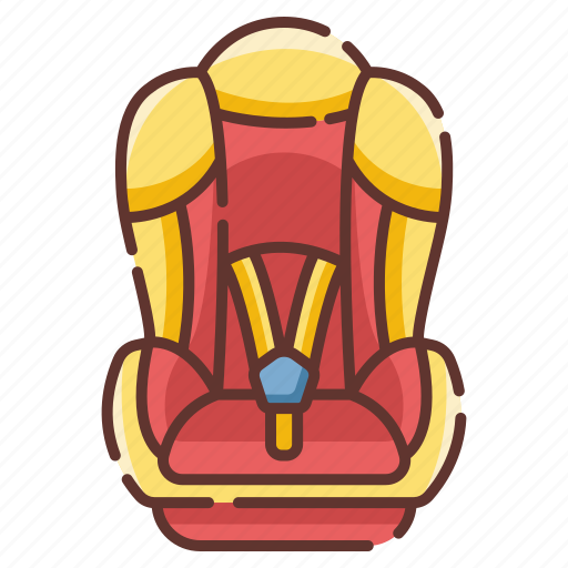 baby, car, chair, child, infant, safety, seat icon