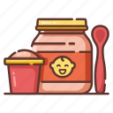 baby, breakfast, cereal, food, healthy, infant icon