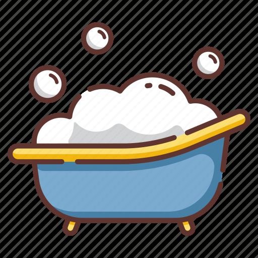 baby, bath, bathing, child, infant, toddler, tub icon