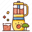blender, clean food, fresh, juice, nutrition, smoothie, vegetables icon
