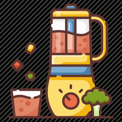 Blender, clean food, fresh, juice, nutrition, smoothie, vegetables icon - Download on Iconfinder