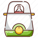 baby, bottle, child, container, milk, warm, warmer icon