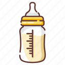 baby, bottle, container, infant, milk, newborn icon