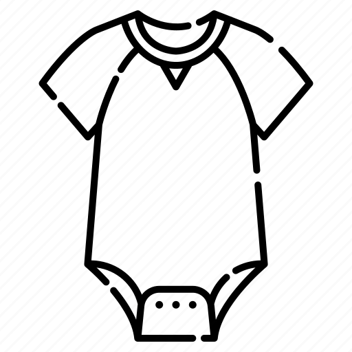 Apparel, baby, bodysuit, clothing, infant, newborn icon - Download on Iconfinder