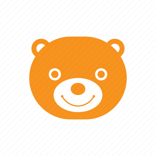 Bear, bear pillow, face, happy, smile, teddy icon - Download on Iconfinder