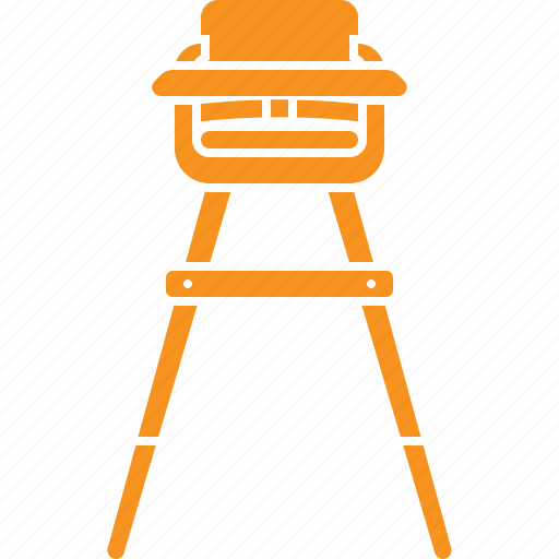 Baby, baby chair, high chair icon - Download on Iconfinder