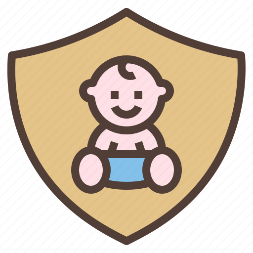 baby, insurance, protect, safety, security icon