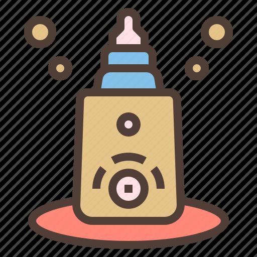 bottle, electric, milk, warmer icon