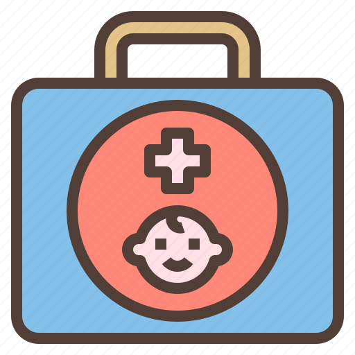 aid, box, first, kit, medicine icon