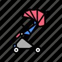 stroller, walk, baby, shop, selling, tool