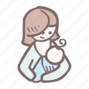 baby, baby shower, breastfeeding, mother-to-be, party, pregnancy icon