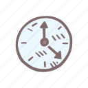 baby, baby shower, clock, mother-to-be, party, pregnancy, time icon