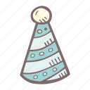 baby, baby shower, hat, mother-to-be, party, pregnancy icon