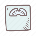 baby, baby shower, mother-to-be, party, pregnancy, scale icon