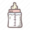 baby, baby shower, bottle, mother-to-be, party, pregnancy icon
