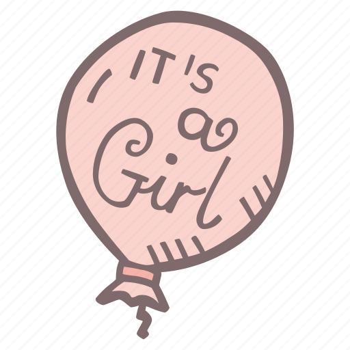 Baby Baby Shower Baloon It S A Girl Mother To Be Party