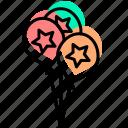 baby stuff, balloon icon
