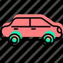baby stuff, car, child, kid, toy, vehicle icon