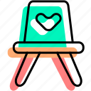 baby, baby stuff, chair, furniture, kid, room, seat icon