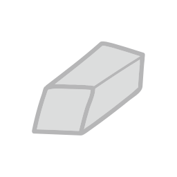 eraser, object, school, student, study icon