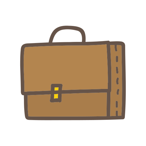 bag, object, school, student, study, suitcase icon