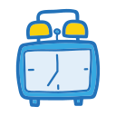 clock, object, school, student, study icon