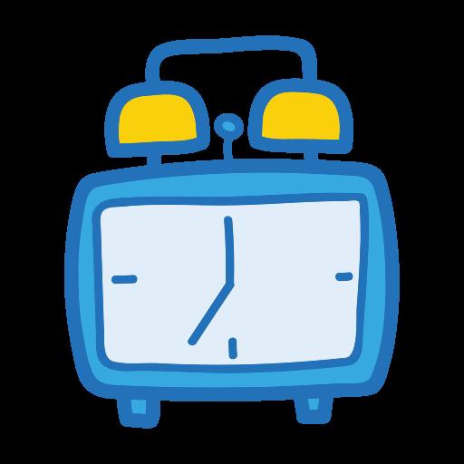 clock, object, school, student, study icon