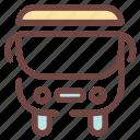 backtoschool, bus, childhood, school, schoolsupply, study, supply icon