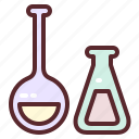 flask, chemistry, science, laboratory, research