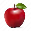 apple, fruit, manzana, mela icon