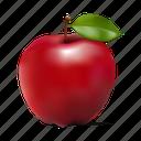 apple, fruit, manzana, mela icon