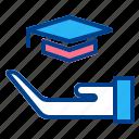 education, graduation, learning, school, study