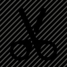 clip, cut, devide, edit, trim icon